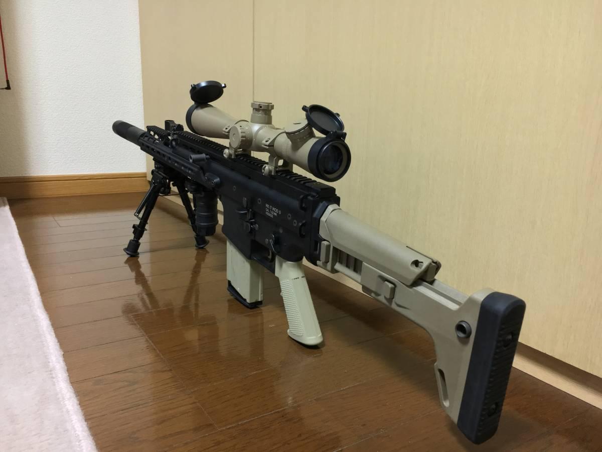 WE SCAR H スナイパーライフル フルカスタム 豪華付属品多数 M14 M4 MK17 SCAR L スカー