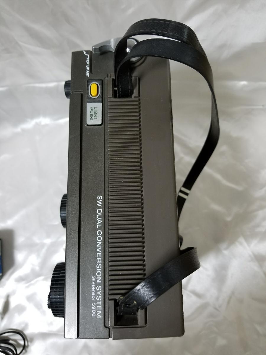 SONY スカイセンサー ICF-5900 カバー、アダプター付き ジャンク_画像9