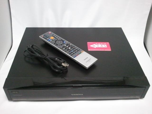 美品 送料無料 TOSHIBA VARDIA RD-X9 東芝 ハイビジョンレコーダー HDD 2TB リモコン、B-CASカード付き 動作確認済み