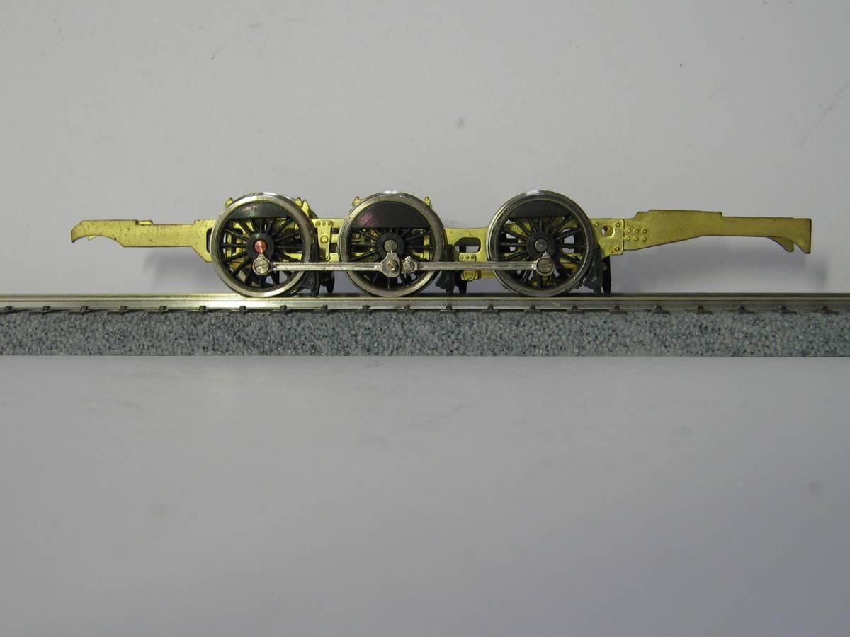 C11形蒸気機関車用ドロップ製主台枠19φ動輪及びパーツ