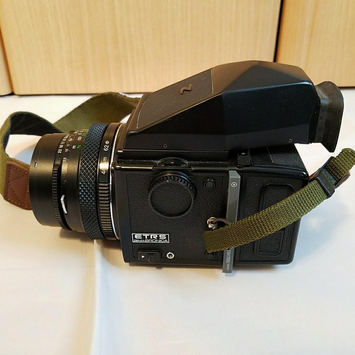 ブロニカ ZENZA BRONICA ETRS 40mm 4 レンズ付き_画像2
