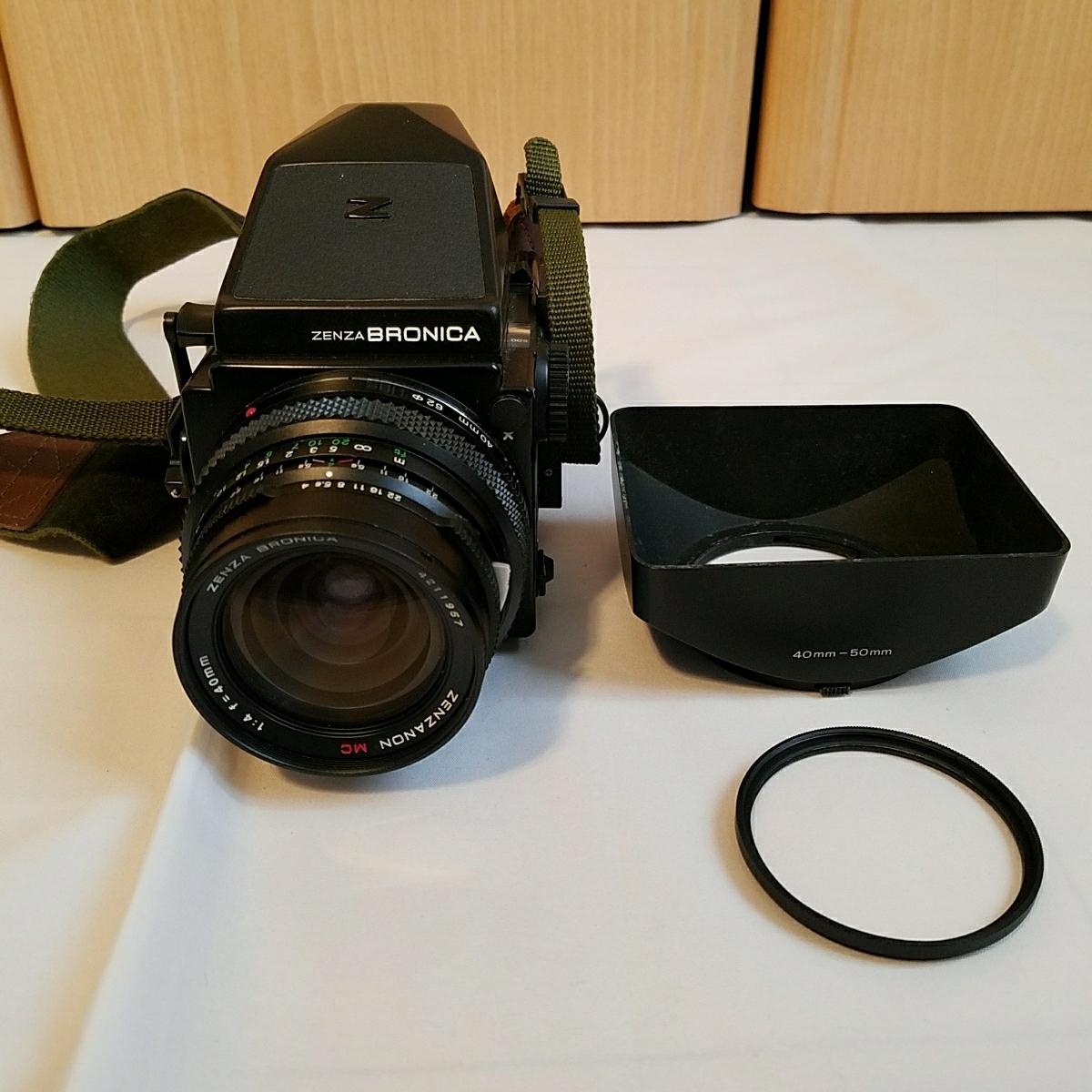ブロニカ ZENZA BRONICA ETRS 40mm 4 レンズ付き