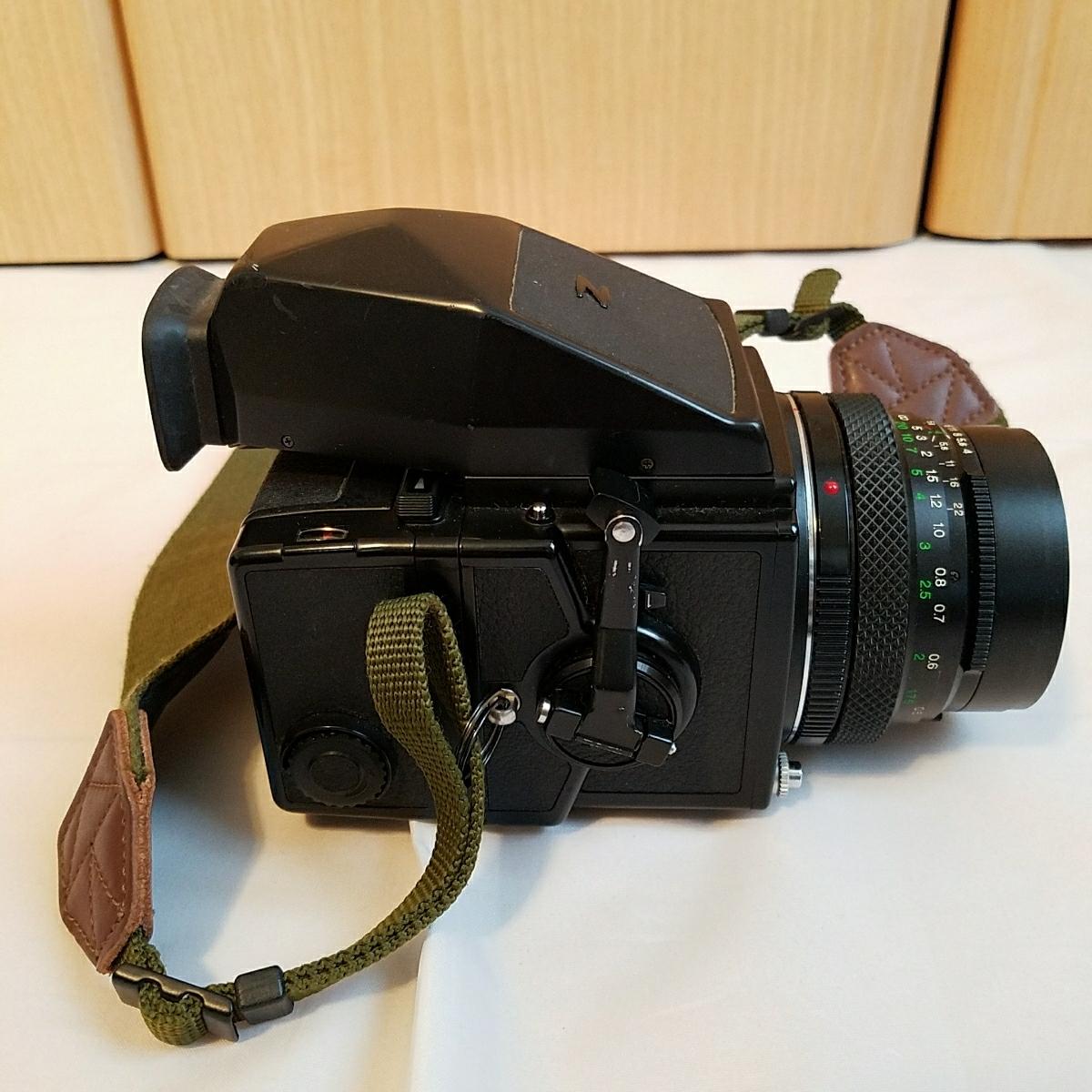 ブロニカ ZENZA BRONICA ETRS 40mm 4 レンズ付き_画像3