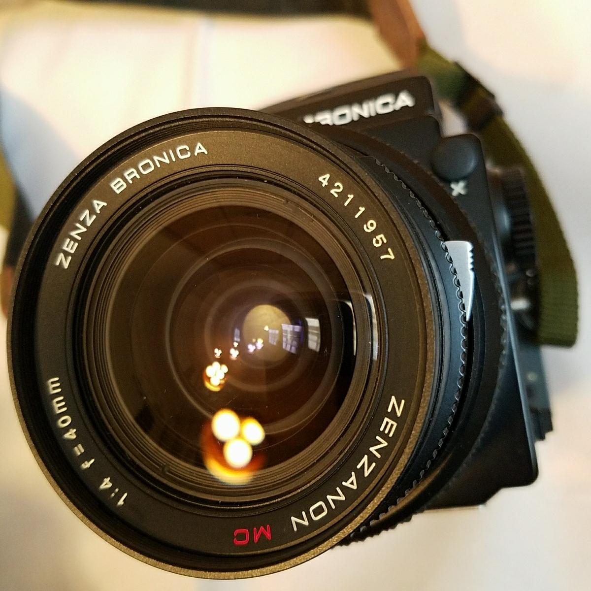 ブロニカ ZENZA BRONICA ETRS 40mm 4 レンズ付き_画像8
