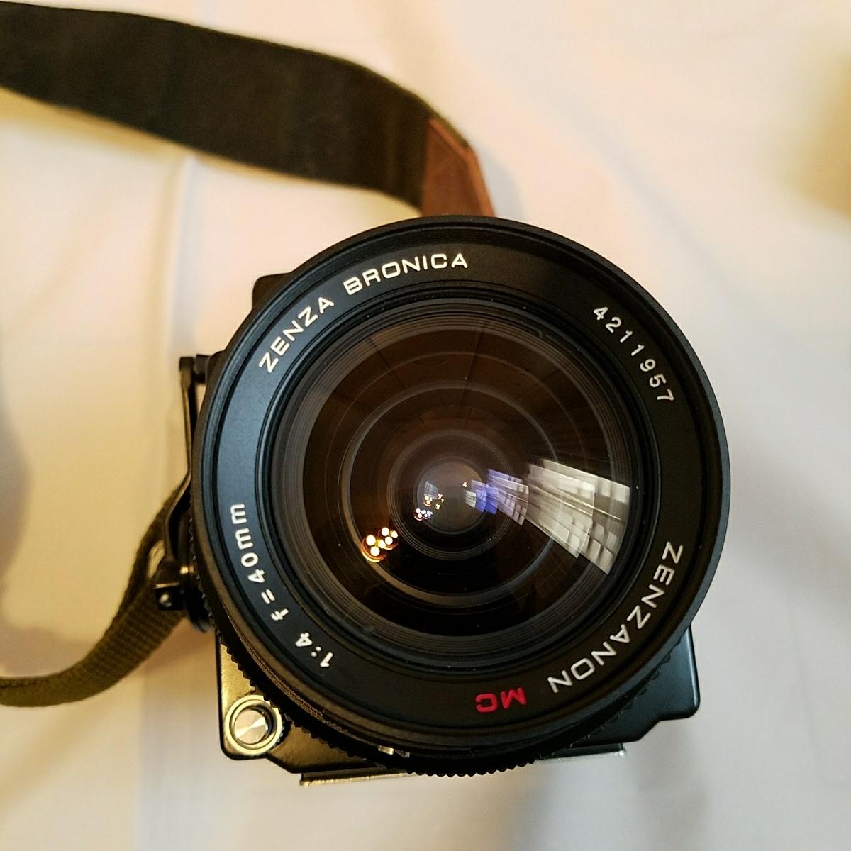 ブロニカ ZENZA BRONICA ETRS 40mm 4 レンズ付き_画像7