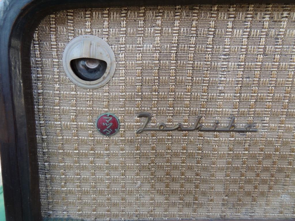 昭和レトロ 東芝 マツダ 真空管ラジオ 614A アンティーク レトロなラジオ_画像6