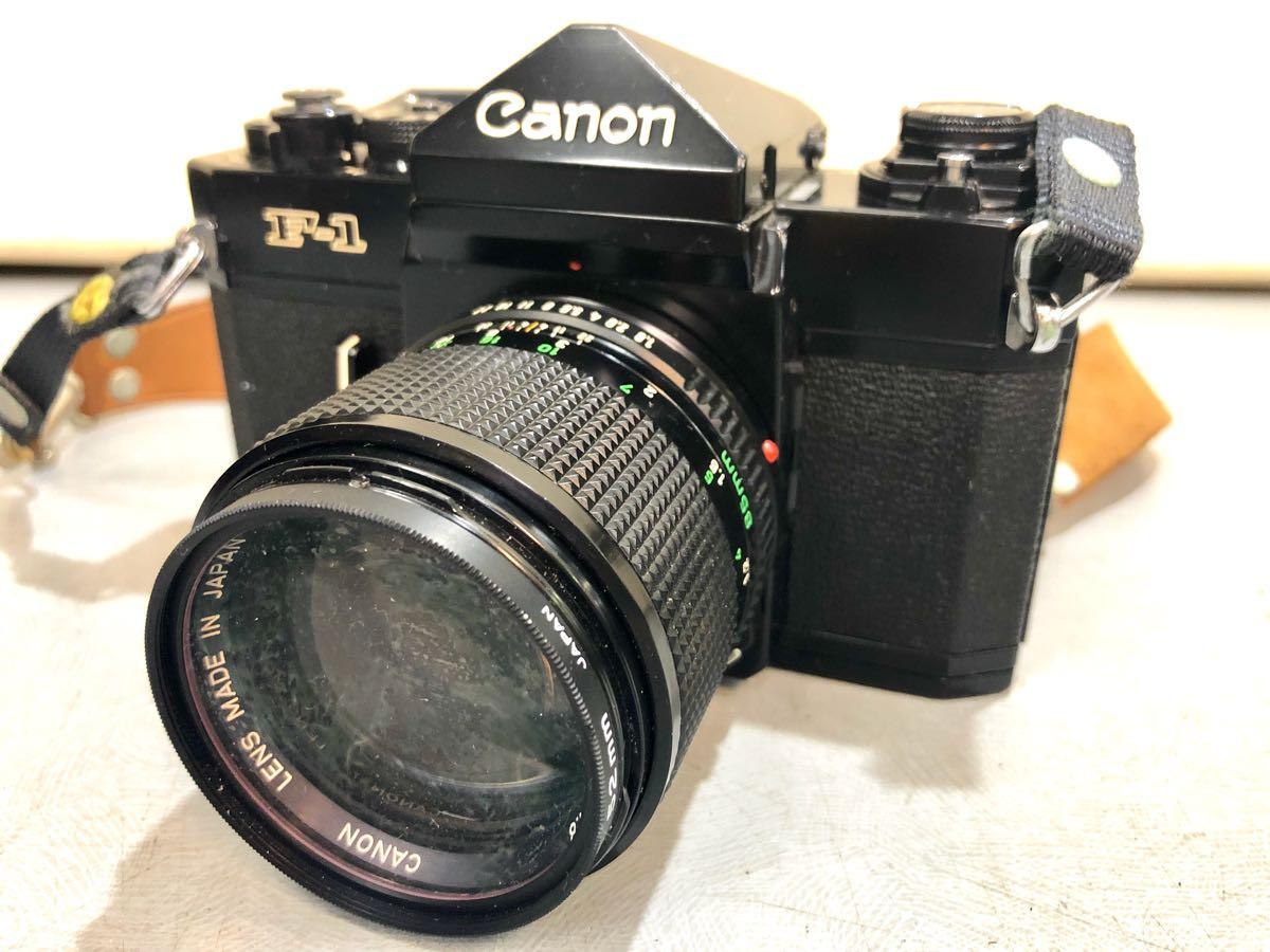 ★☆【ジャンク】CANON/キヤノン 一眼レフカメラ F-1 レンズ:CANON LENS FD 85mm 1:1.8 ☆★