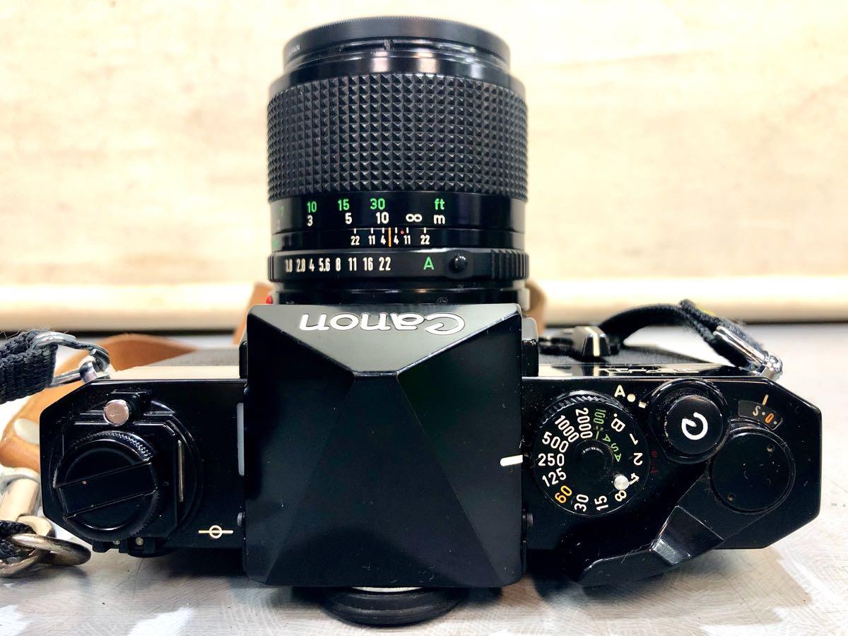★☆【ジャンク】CANON/キヤノン 一眼レフカメラ F-1 レンズ:CANON LENS FD 85mm 1:1.8 ☆★_画像6