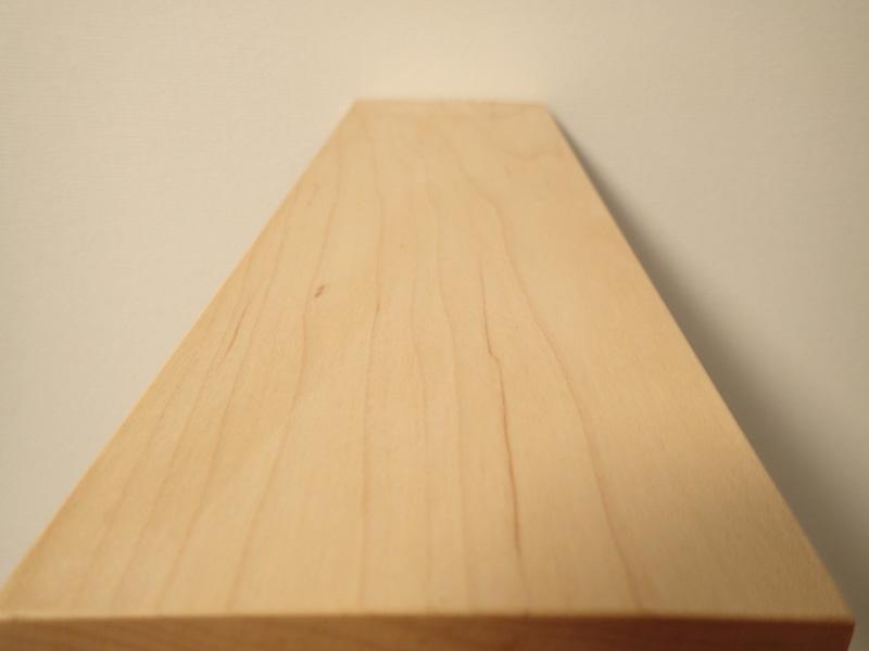 マスターウッド) 壁掛け棚 ハードメープル 無垢材 幅30cm 壁掛けラック おしゃれ アイアンラック 木製_画像3