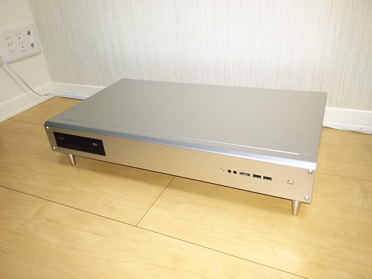 Abee/アビー smart SC120D(シルバー) MicroATX Intel Core i3 7100自作パソコン