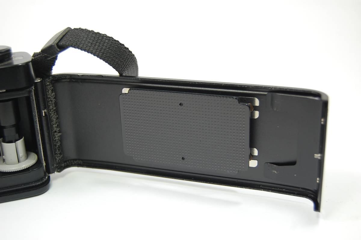 MINOLTA  XG-Sブラックボディ+MD ROKKOR 50mm 1:1.4 前キャップつき/レトロ*アンティーク*ビンテージ*レア_画像9