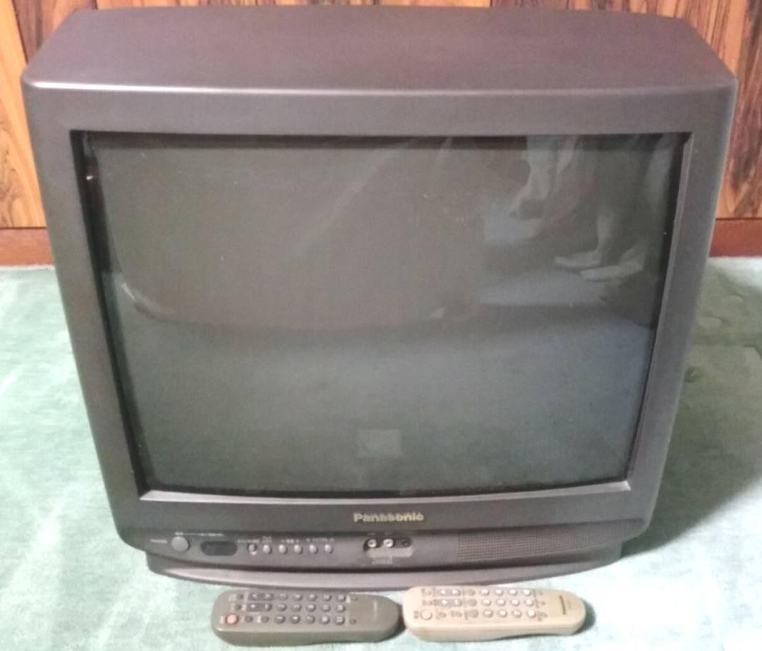 ◆21 модель    Panasonic   коричневый  труба    цвет  TV  TH-21Z3  Пульт ДУ  есть