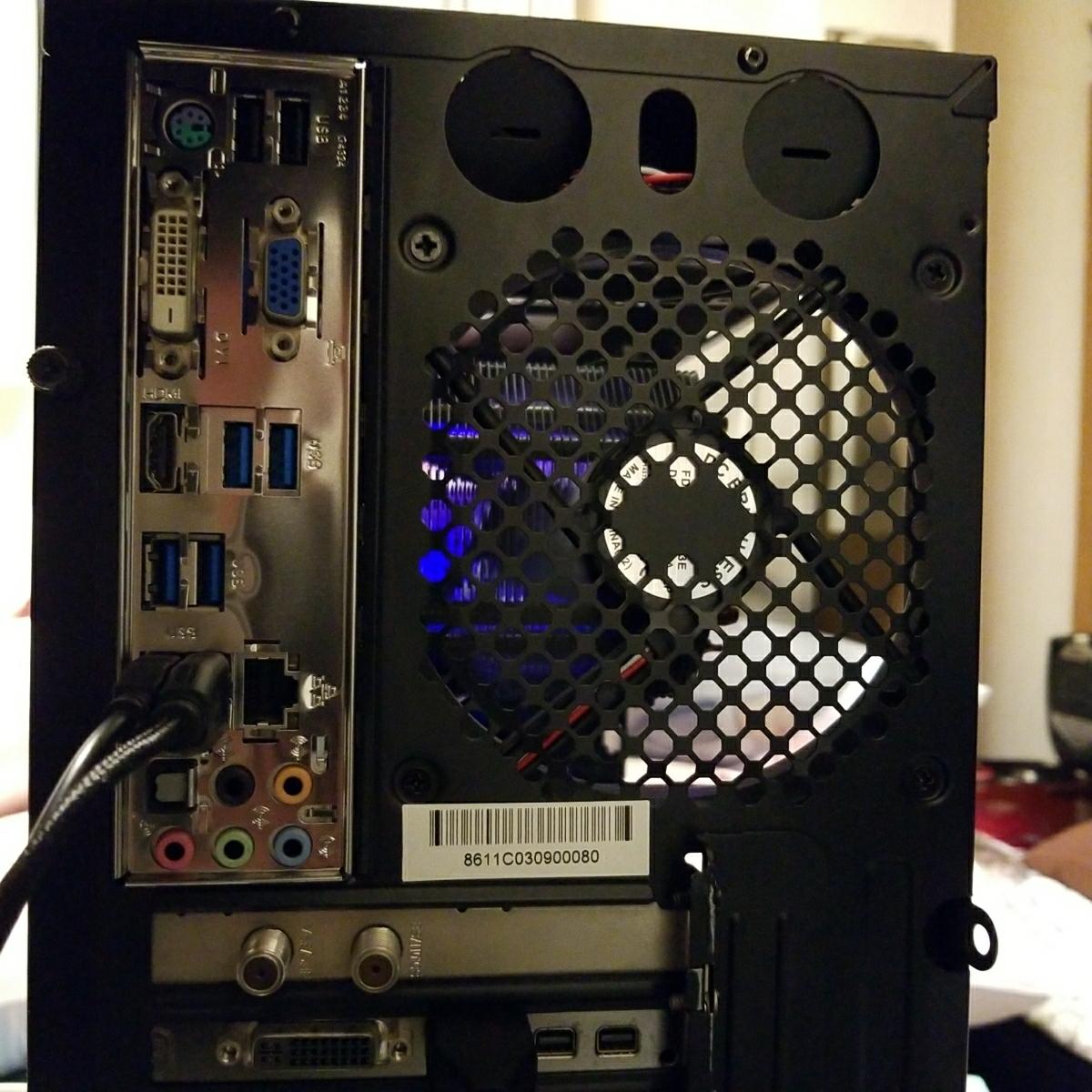 自作デスクトップPC Core i5 radeon ジャンク扱い_画像4