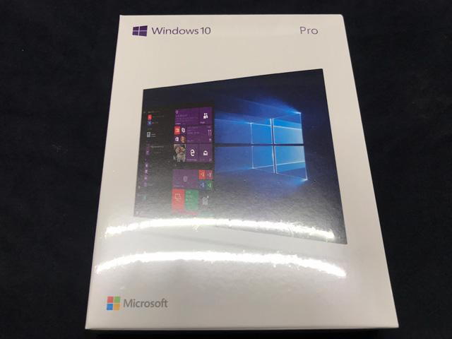 ★Windows 10 Pro 日本語版 (FQC-10185)(新品未開封品)★