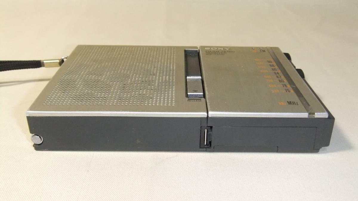ソニー SONY 2バンドラジオ FM/AM ICF-7500 ジャンク_画像9