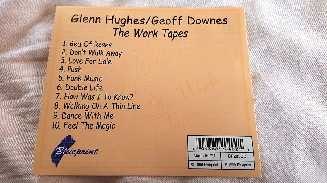 Glenn Hughes / Geoff Downes 「THE WORK TAPES」 メロディアス・ハード系名盤_画像6