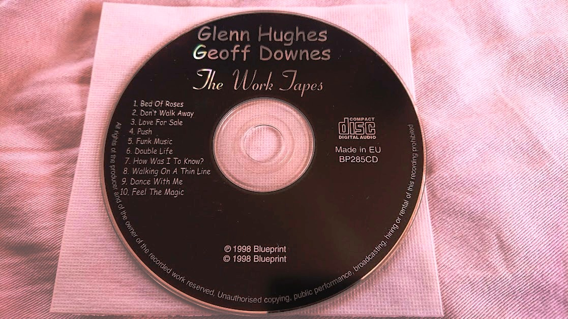 Glenn Hughes / Geoff Downes 「THE WORK TAPES」 メロディアス・ハード系名盤_画像5