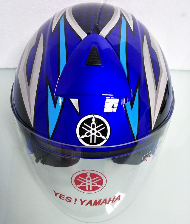 ヤマハ yamaha バイク ジェット ヘルメット L サイズ op19 新品 在庫 格安 価格 処分 即日_画像4