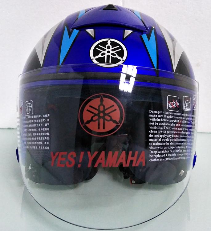 ヤマハ yamaha バイク ジェット ヘルメット L サイズ op19 新品 在庫 格安 価格 処分 即日_画像3