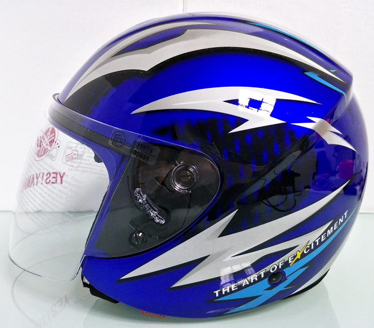 ヤマハ yamaha バイク ジェット ヘルメット L サイズ op19 新品 在庫 格安 価格 処分 即日_画像2