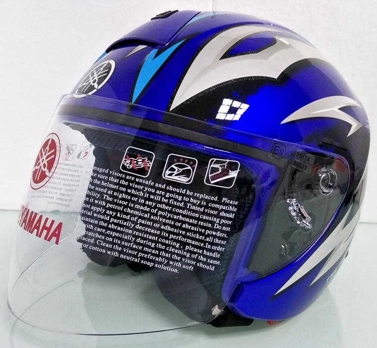ヤマハ yamaha バイク ジェット ヘルメット L サイズ op19 新品 在庫 格安 価格 処分 即日_画像1