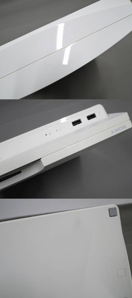 1円~★SONY PS3 (160GB) CECH-2500A 本体 動確済 オマケ付(ジャンクソフト5本) ⑦ (4806)_画像6