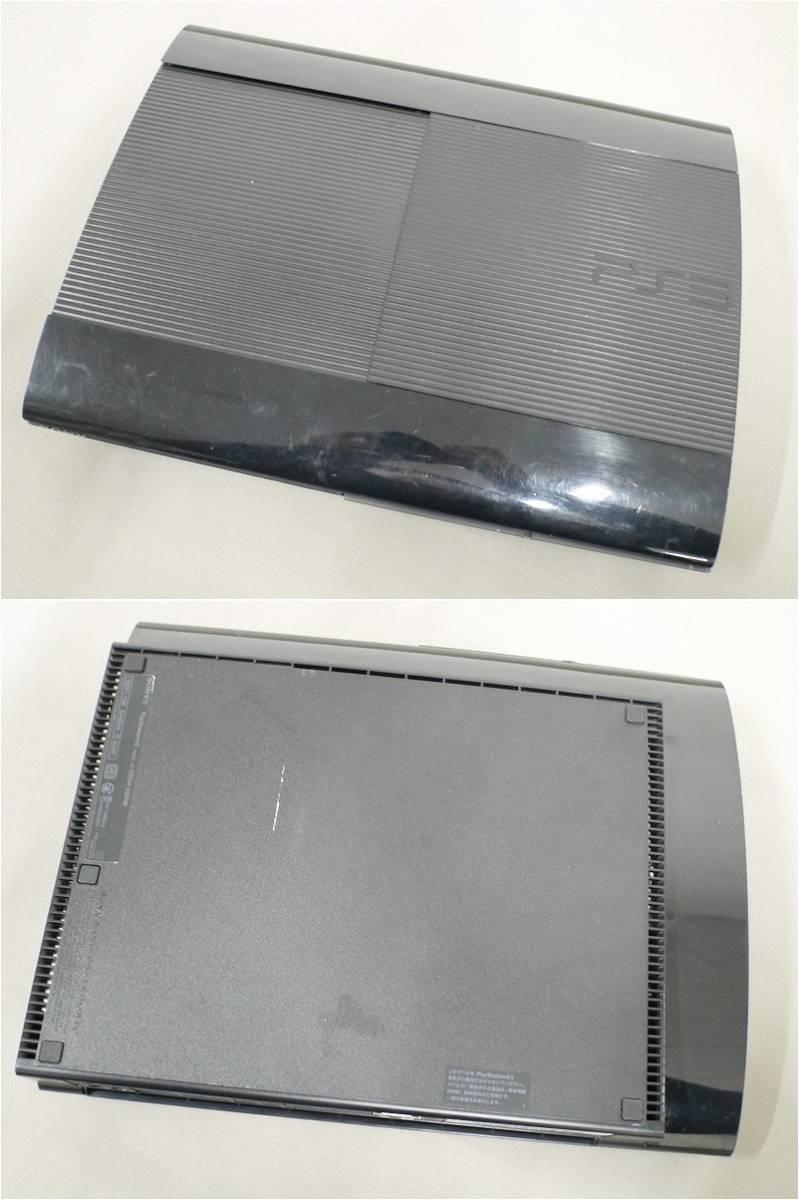 1円~★SONY PS3 (250GB) CECH-4200B 本体 動確済 オマケ付(ジャンクソフト10本) B (4661)_画像4