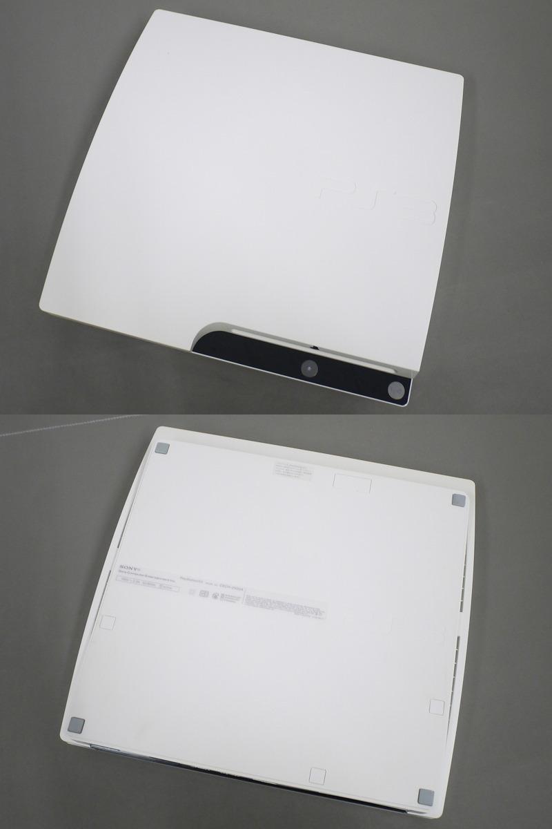 1円~★SONY PS3 (160GB) CECH-2500A 本体 動確済 オマケ付(ジャンクソフト5本) ⑦ (4806)_画像4