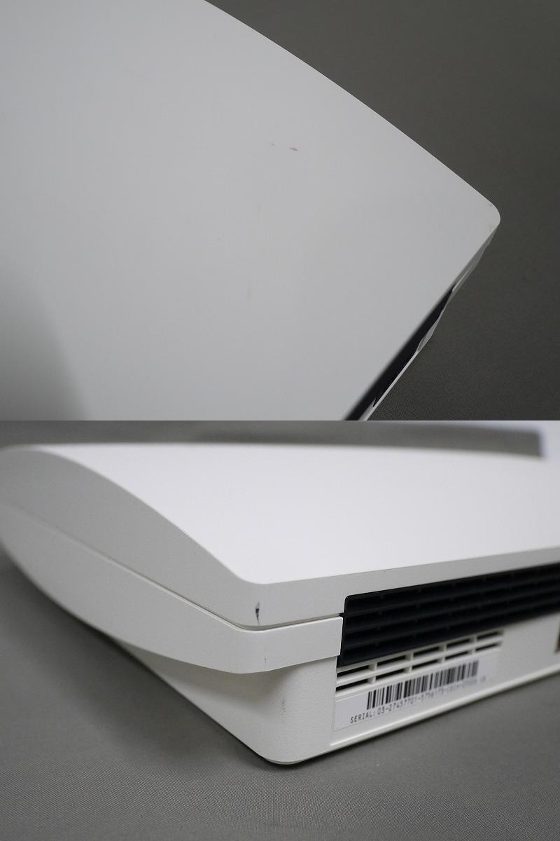 1円~★SONY PS3 (160GB) CECH-2500A 本体 動確済 オマケ付(ジャンクソフト5本) ⑦ (4806)_画像7