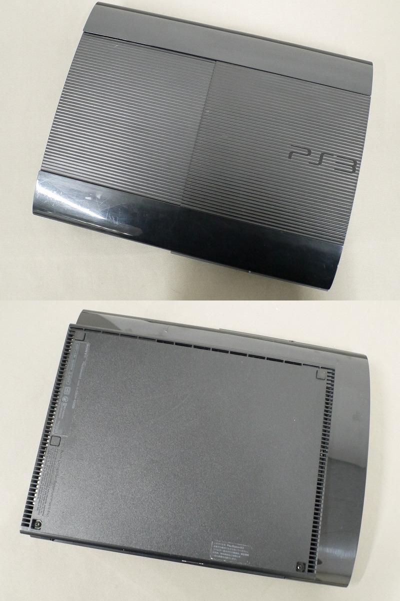 1円~★SONY PS3 (250GB) CECH-4000B 本体 動確済 オマケ付(ジャンクソフト5本) ⑤ (4803)_画像4