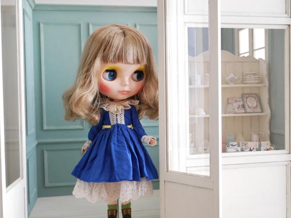 1/6ドールハウス BOX型ハウス&家具のセット /ブライス、momoko、リカちゃん等に_画像10