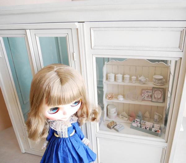 1/6ドールハウス BOX型ハウス&家具のセット /ブライス、momoko、リカちゃん等に_画像9