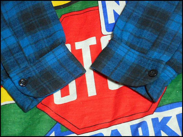 ★GOODコンディションな1枚★Made in USA製アメリカ製PENDLETONペンドルトンビンテージウールシャツ50s50年代Mシャドーチェックオンブレー_画像5