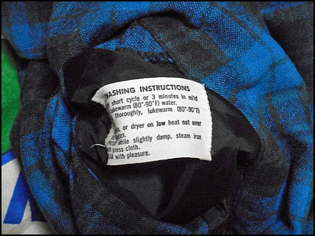 ★GOODコンディションな1枚★Made in USA製アメリカ製PENDLETONペンドルトンビンテージウールシャツ50s50年代Mシャドーチェックオンブレー_画像6