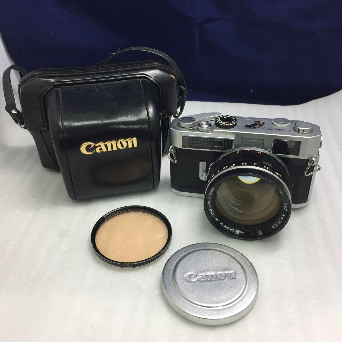 Canon レンジファインダーカメラ Canon 7 レンズ 50mm F0.95 btbt-t