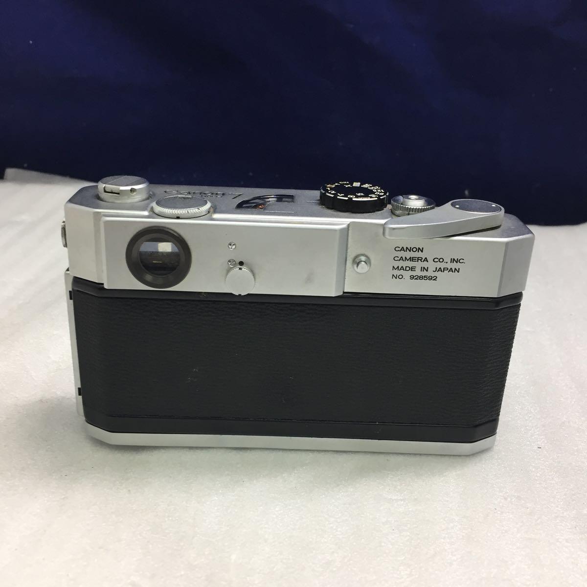Canon レンジファインダーカメラ Canon 7 レンズ 50mm F0.95 btbt-t_画像6