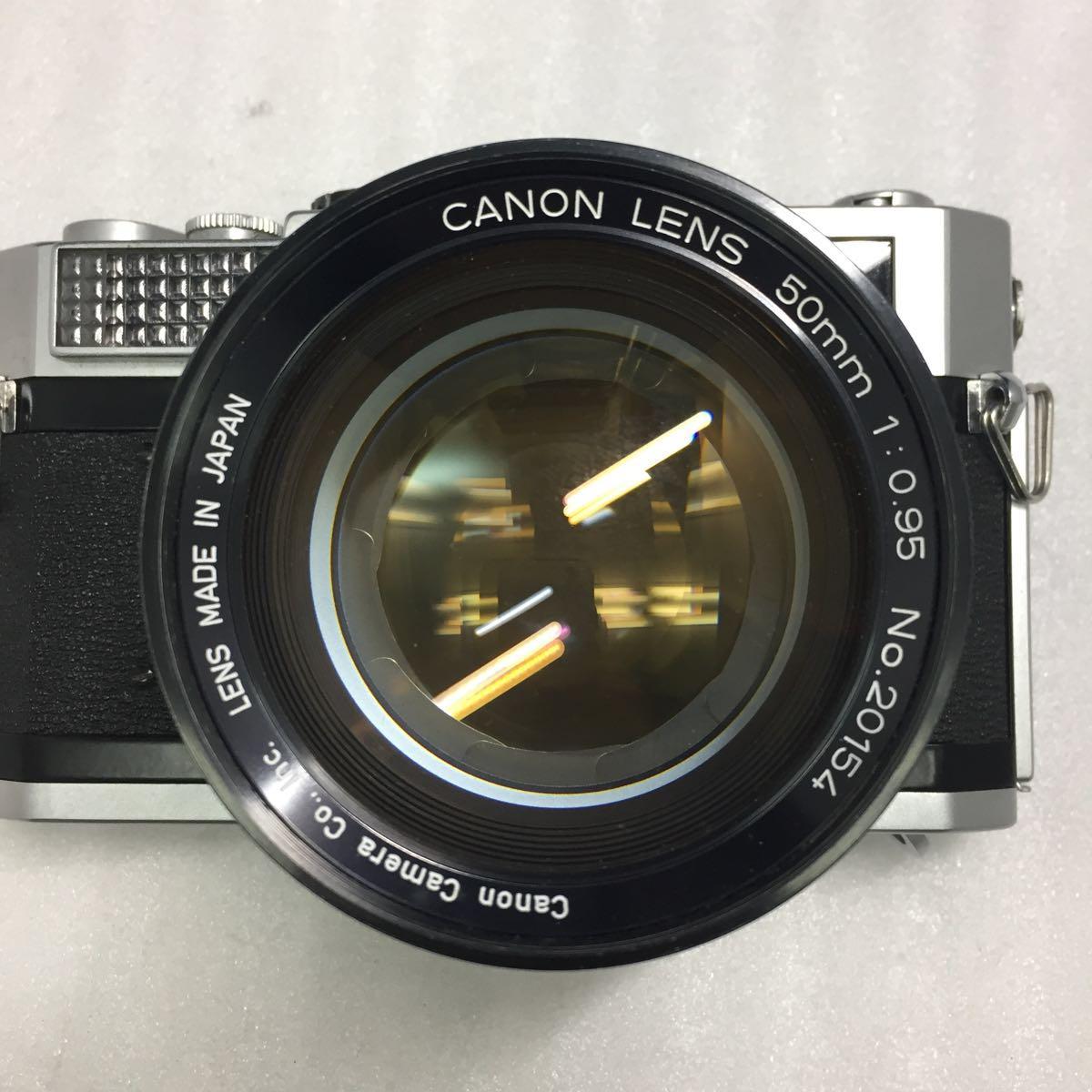 Canon レンジファインダーカメラ Canon 7 レンズ 50mm F0.95 btbt-t_画像4