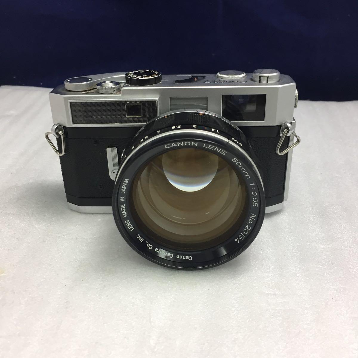 Canon レンジファインダーカメラ Canon 7 レンズ 50mm F0.95 btbt-t_画像2