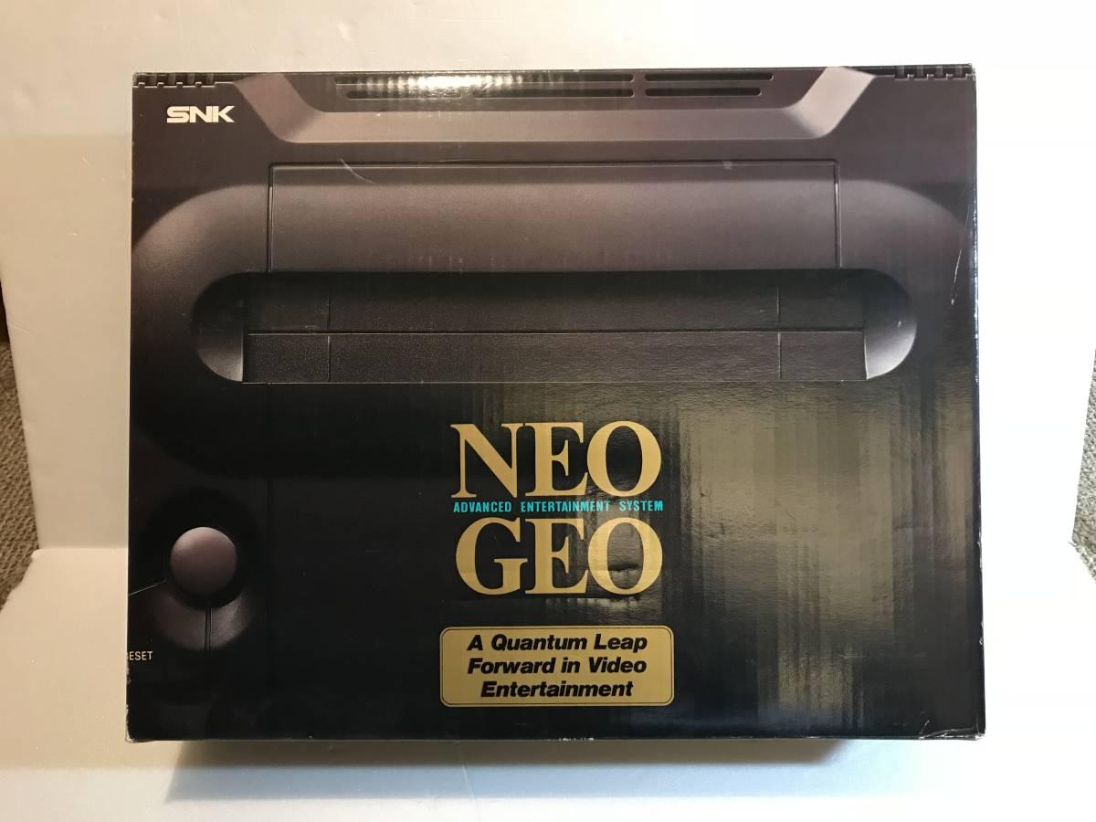 ☆必見☆ NEO GEO ネオジオ 本体 空箱のみ 結構綺麗です