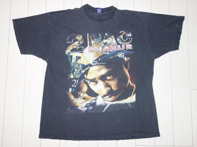 90s 2PAC 2パック ビンテージ Tシャツ ビギー ノートリアス ファレル スヌープ