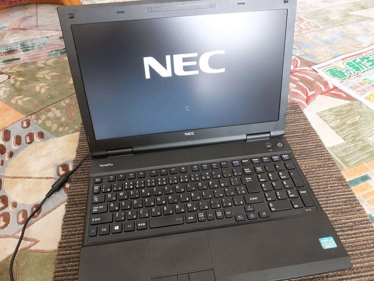 ■NECノートパソコン Versapro  VK26T/L-G 15.6インチ Core i5 HDD300GB メモリ8GB DVDマルチドライブ Windows10 Pro 快適動作