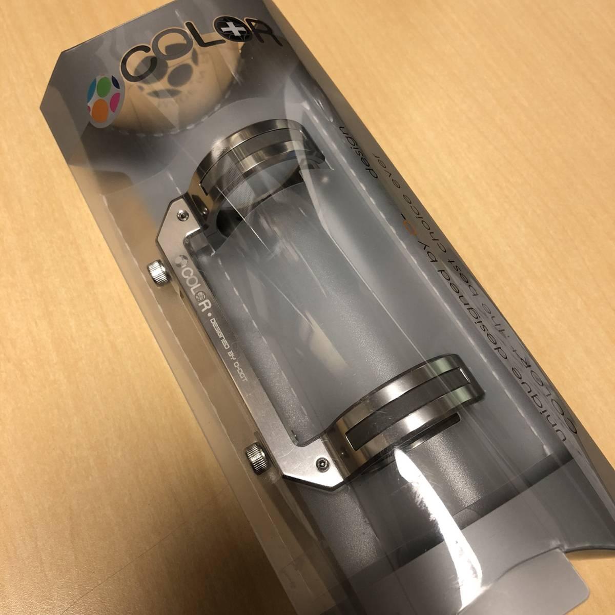 CollarPlus ボトルケージ台座 BHC01 シルバー / Birdy BD-1
