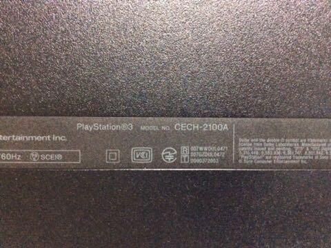 ☆1円スタート☆ PS3 ジャンク 4台セット まとめて CECH-2000A CECH-2100A CECH-2500A 3台通電OK_画像7