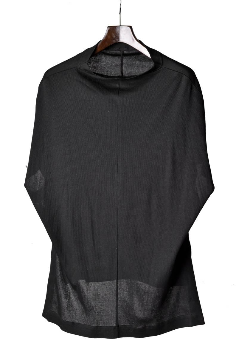 bajra バジュラ ラグラン ドルマンスリーブ カットソー Tシャツ col. BLACK size.2 (D-A)