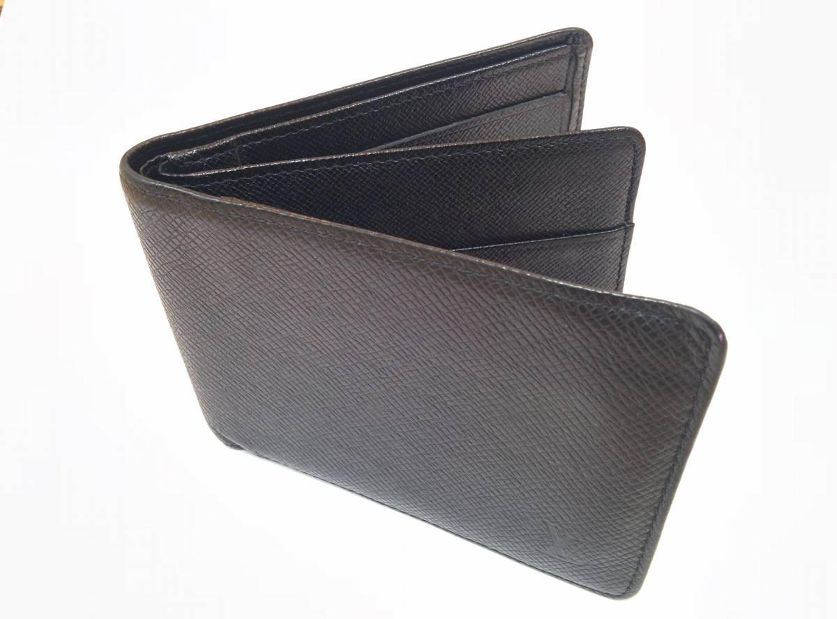 【送料込】Louis Vuitton ルイヴィトン タイガ 二つ折り財布