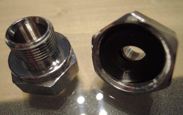 米国KOHLERコーラー社・DELTAデルタ社水栓用変換アダプター2個セット並行輸入品 輸入水栓用アダプター 好みの輸入水栓を使いましょう!_画像1