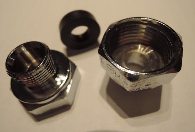 米国KOHLERコーラー社・DELTAデルタ社水栓用変換アダプター2個セット並行輸入品 輸入水栓用アダプター 好みの輸入水栓を使いましょう!_画像5