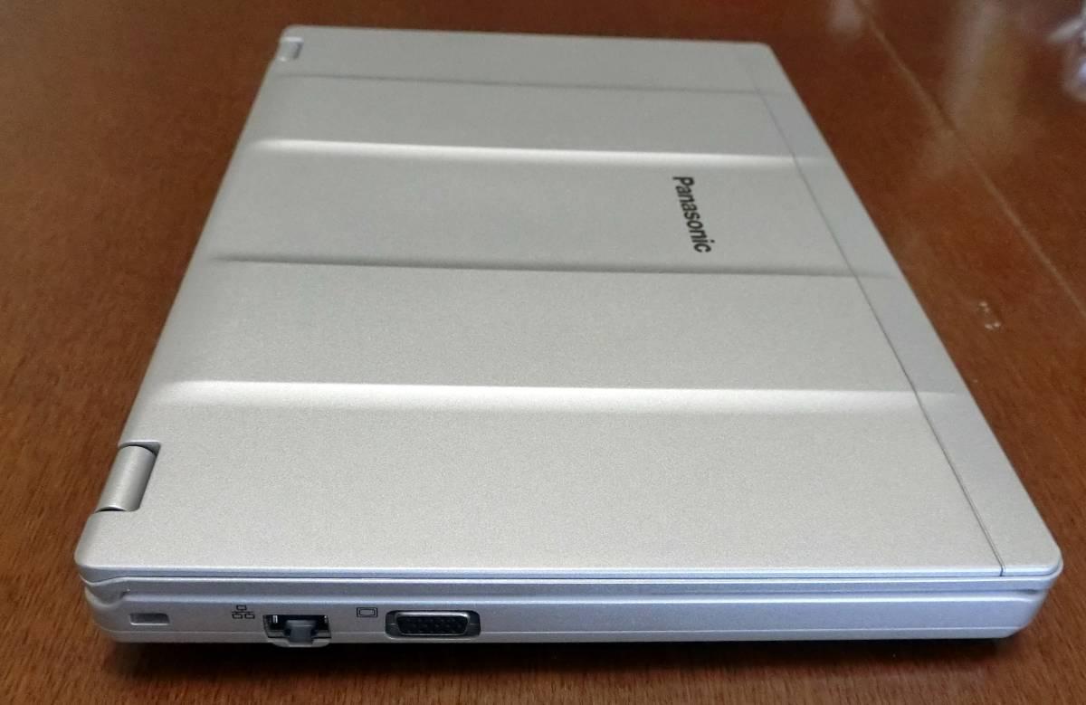 ★☆Let's note CF-SZ6RDCVS美品  メーカー保証残3年、液晶+メイン基板新品(累積使用0時間)、SSD(240GB)付き、送料無料☆★_画像6