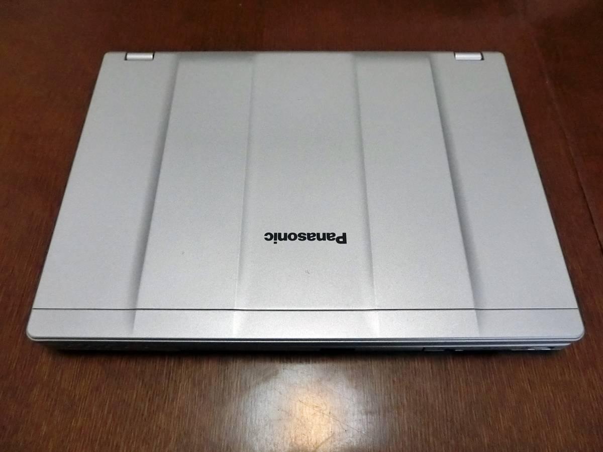 ★☆Let's note CF-SZ6RDCVS美品  メーカー保証残3年、液晶+メイン基板新品(累積使用0時間)、SSD(240GB)付き、送料無料☆★_画像10