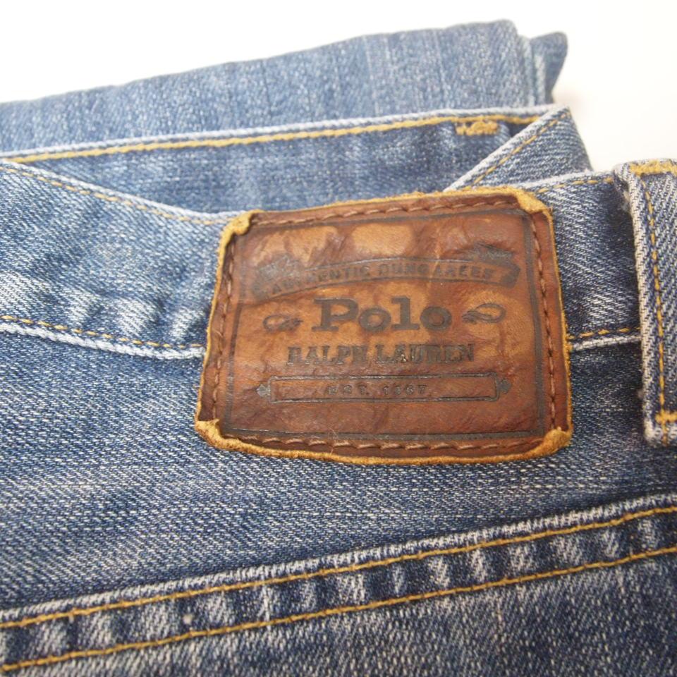[w30] 90s Polo Ralph lauren 5ポケット デニムパンツ メキシコ製 ポロ ラルフローレン RRL ジーンズ ビンテージ_画像5